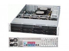 COMBO Máy chủ Supermicro 2U CSE-825TQ-R720LPB E5-2609 v3, 4x HP 300GB 10k 6g SAS 2.5in