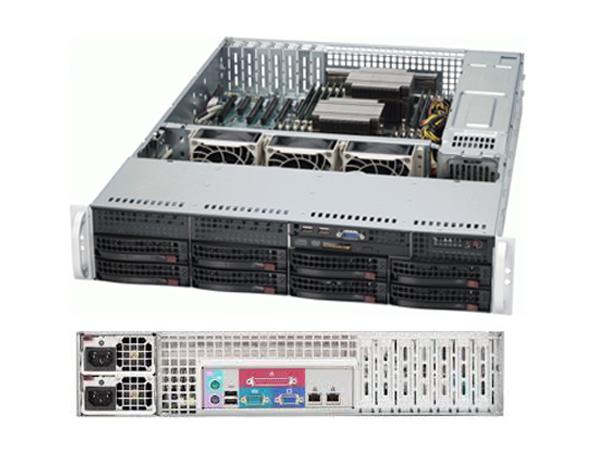 Máy chủ Supermicro USA 2U CSE-825TQ-R720LPB E5-2620 v4