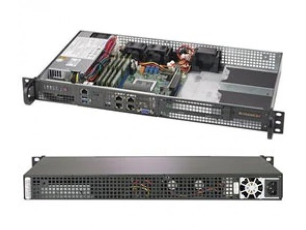 Embedded IoT edge server AS-5019D-FTN4