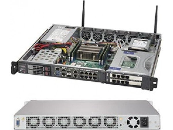 Embedded IoT edge server SYS-1019D-16C-FHN13TP
