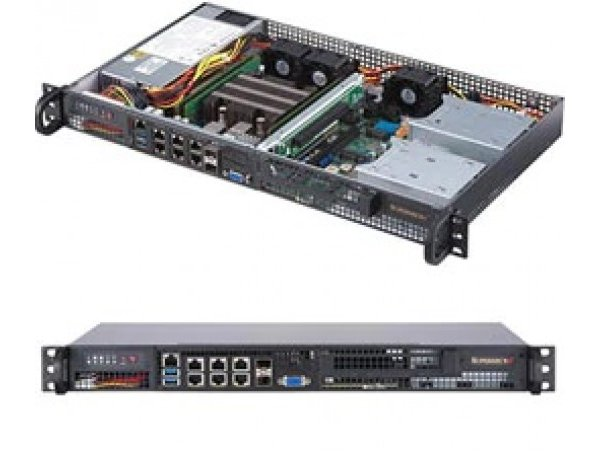 Embedded IoT edge server SYS-5019D-4C-FN8TP
