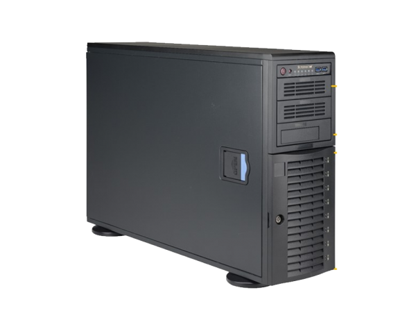 SuperWorkstation SYS-7048A-T Black, E5-2609 v3 1.9G, RAM 8GB DDR4 2133 RDIMM