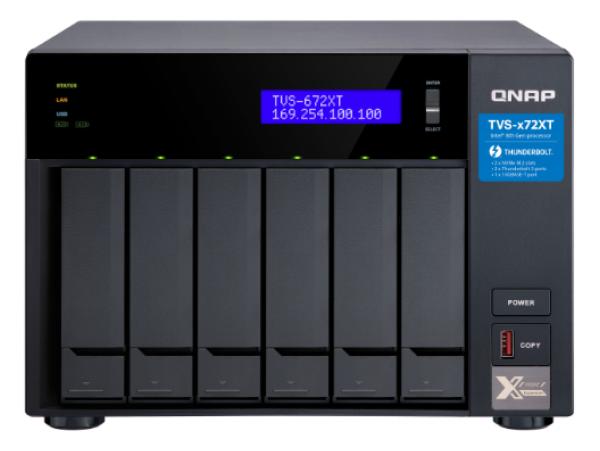 Thiết bị lưu trữ Qnap TVS-672X-i3-8G