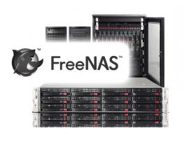Hệ thống lưu trữ SDS cho doanh nghiệp SMB Supermicro FreeNAS