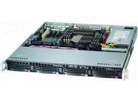 COMBO Máy chủ Supermicro 1U CSE-813MTQ-600CB E5-2609 v3, 4xHP 300GB SAS 10K 2.5in