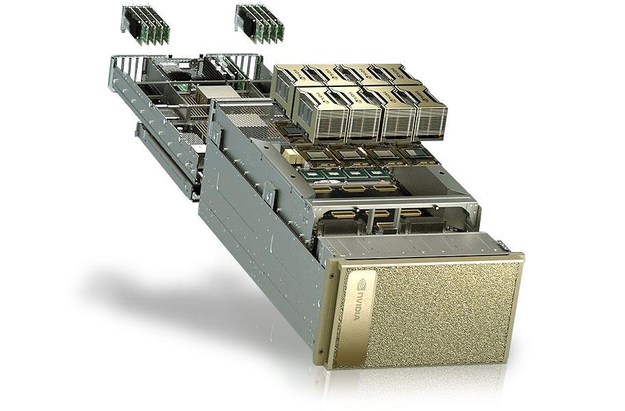 Máy chủ trí tuệ nhân tạo NVIDIA DGX A100 - Thegioimaychu.vn